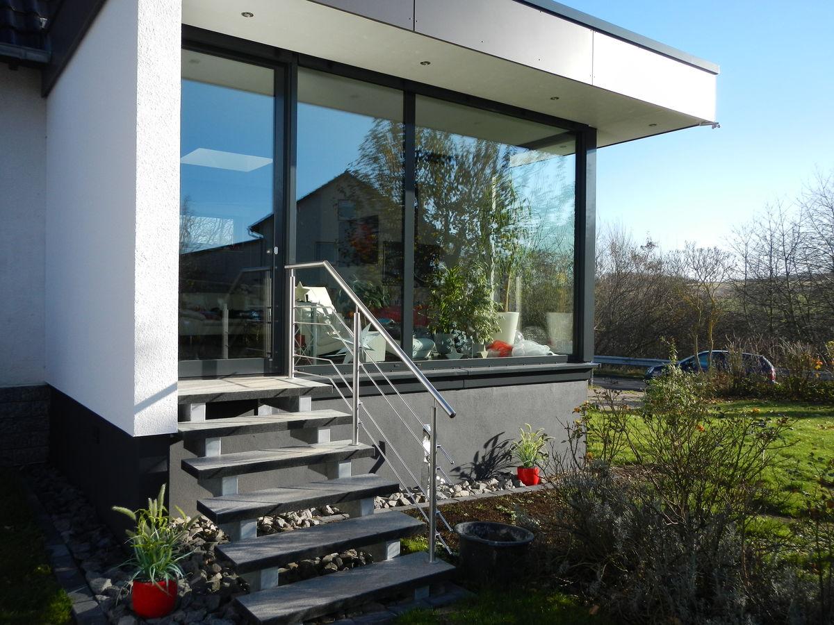 Architekturburo Ruppel Moderner Anbau An Ein Wohnhaus